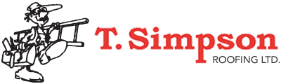 T. Simpson Roofing Logo